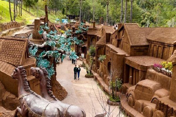 ngôi làng đất sét đà lạt