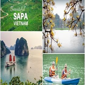 Tour Sài Gòn Hà Nội Sapa Hạ Long 6 Ngày 5 Đêm